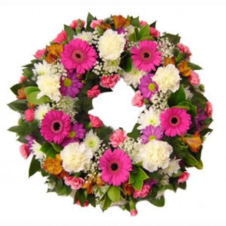 FMN Raspberry Wreath