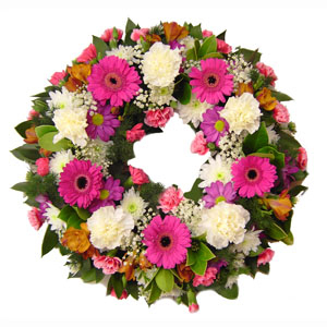FMN Raspberry Wreath