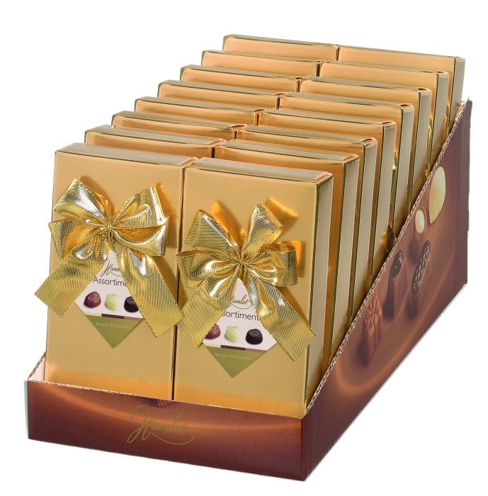 Gold Box Belgian Chocolates 125g