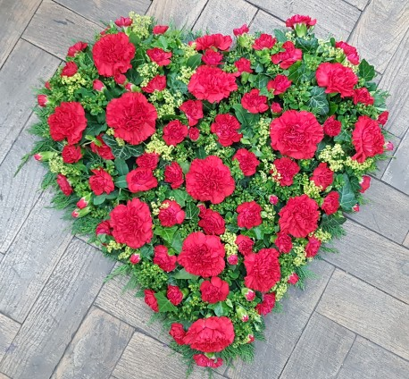 Red Carnation Heart