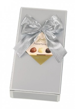 Silver Boxed Belgian Chocs 125g